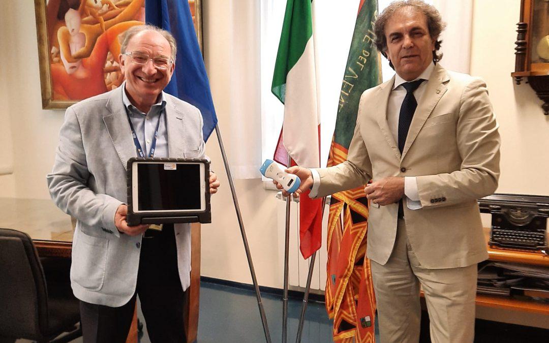 Protetto: SERVICE attrezzature Ospedale di Chioggia. 23 giugno 2020